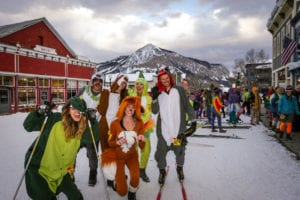 Nordic Ski Party in Crested Butte