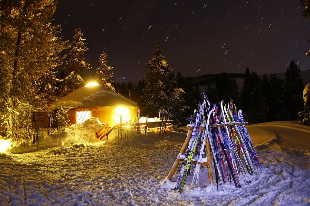 Alpine Yurt with CB Nordic