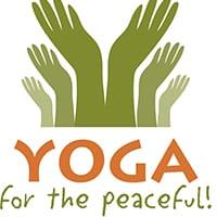 yoga for the peaceful logo
