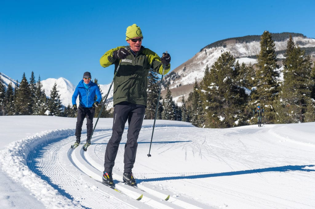 Gray Hares Nordic Skiing in Crested Butte