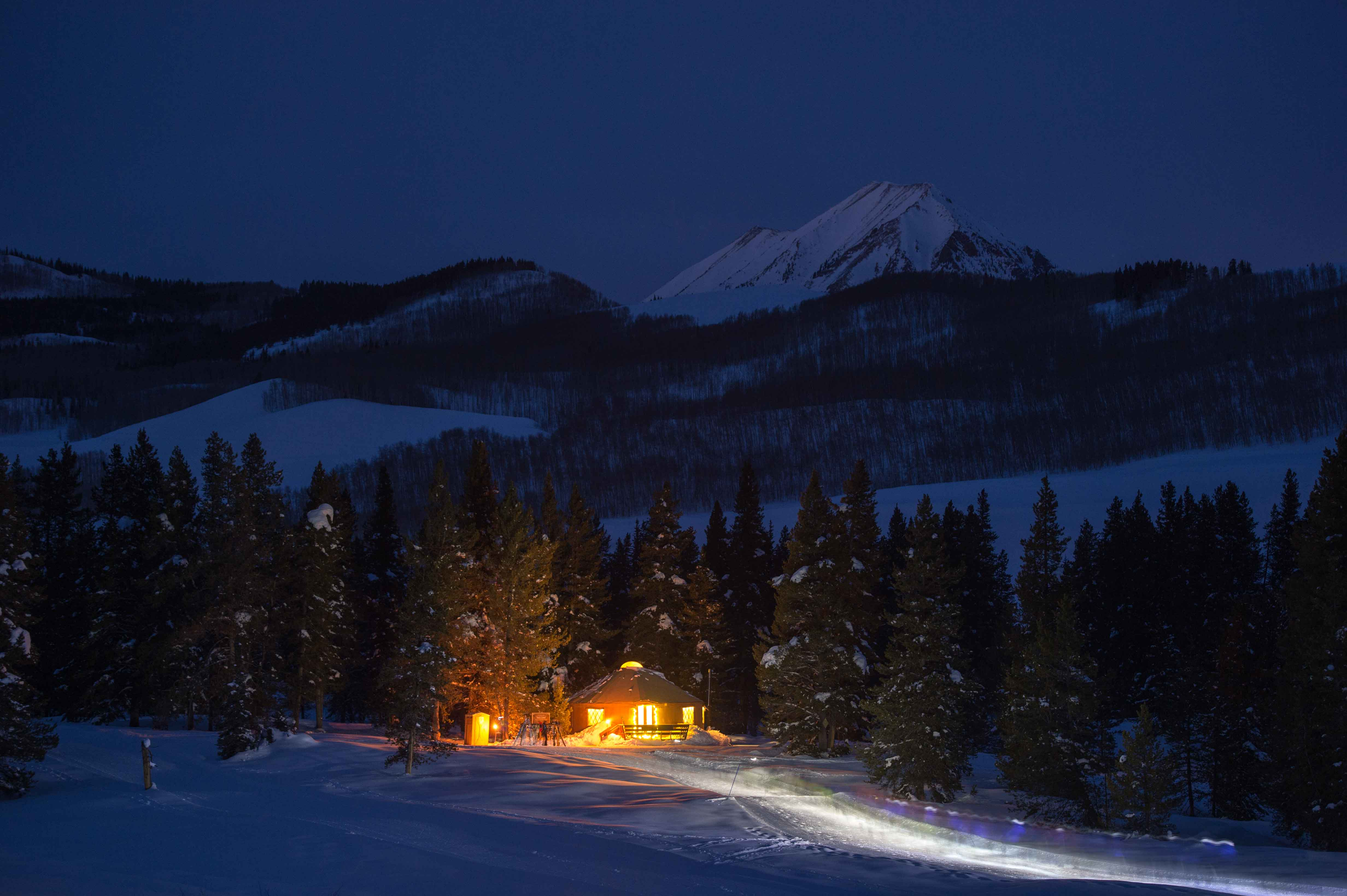 Magic Meadows Yurt Dinner Crested Butte Nordic Nordic Ski Capital Of Colorado