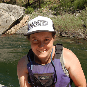 Kelsey on the river near Crested Butte