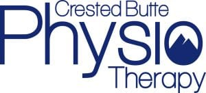 Crested Butte Physio Therapy blue logo