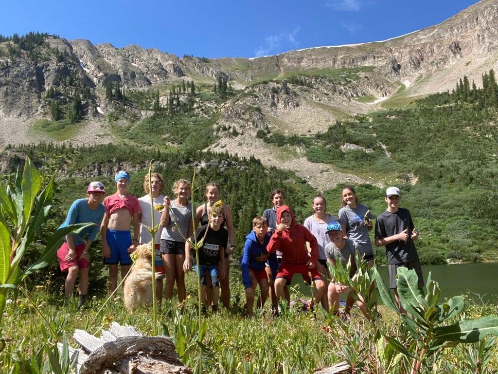 Junior Team at Green Lake