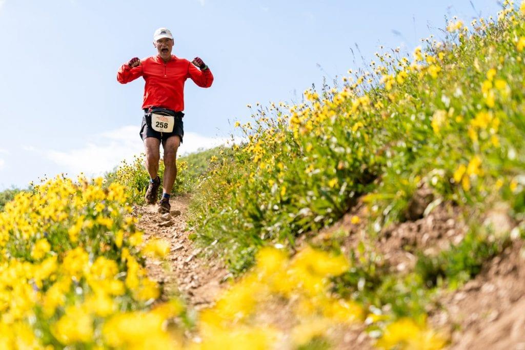 Summer Grand Traverse runner feeling strong