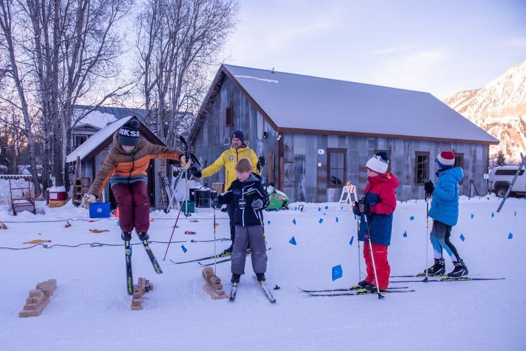 Ski for PE after school program at Crested Butte Nordic