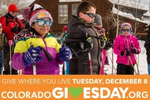 """Colorado Gives Day """"Community Outreach"""" ad for Crested Butte Nordic"""