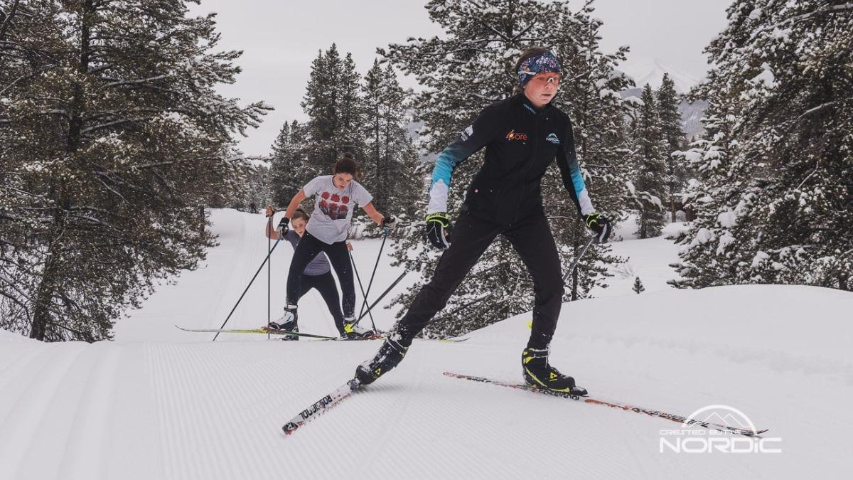 Youth skiing for Magic Meadows Community Ks, February 2021