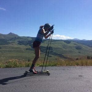 Summer Training for the nordic season in Crested Butte