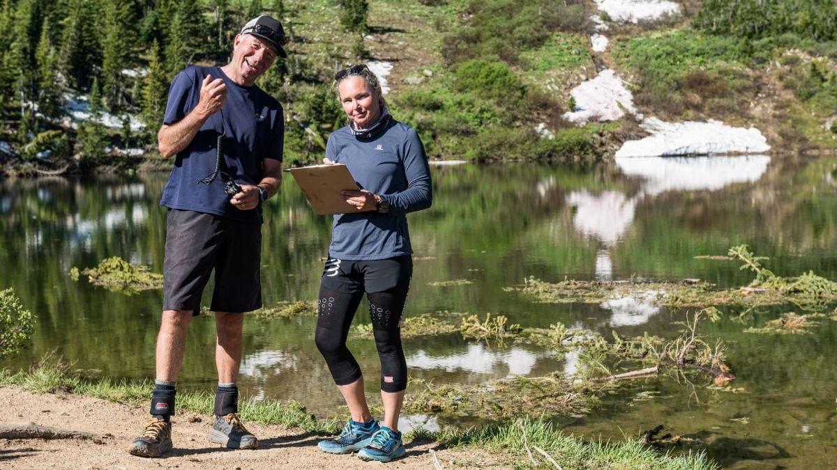 Grin & Bear It trail marshals at Green Lake